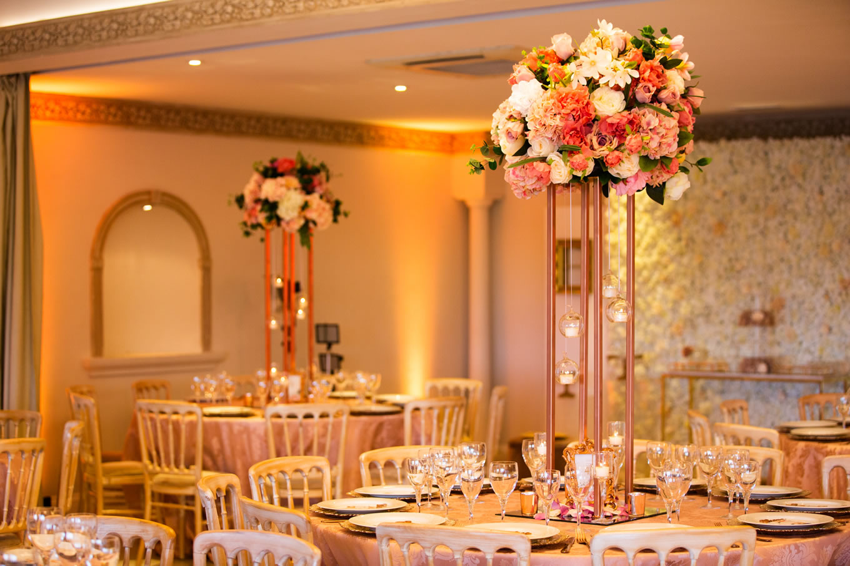 Asian wedding decor